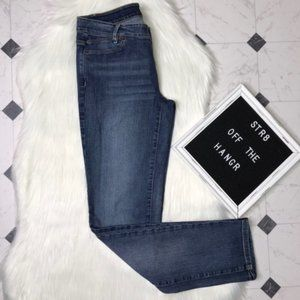 J. Jill slim boyfriend straight fit jeans size 2